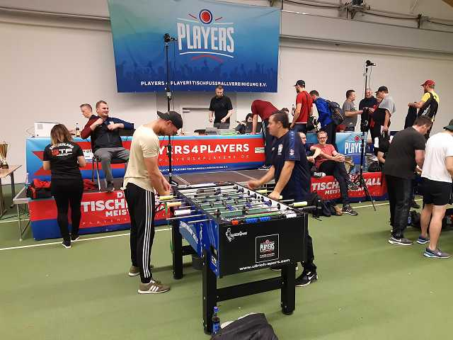Deutsche Meisterschaft im Tischfussball.